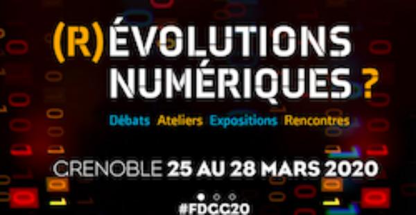 Festival de géopolitique de Grenoble «(R)évolutions numériques?» 25 au 28 mars 2020 – Reporté –