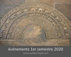 Les RDV du 1er semestre 2020