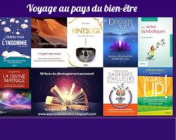 50 livres de développement personnel du blog «Voyage au pays du bien-être»