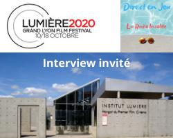Interview Lumière 2020 Grand Lyon Film Festival