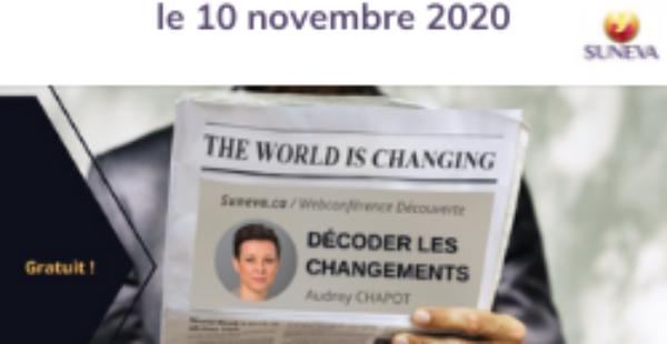 Webconférence découverte avec Suneva «Décoder les changements»
