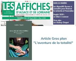 Les affiches d'Alsace et de Lorraine «L'aventure de la totalité»
