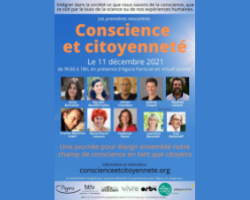 Read more about the article Intervention aux Rencontres Conscience et citoyenneté, le 11 décembre 2021